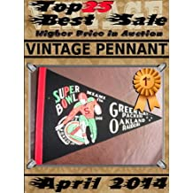 April 2014 - Vintage Pennant - Top25 Best Sale - Higher Price in Auction