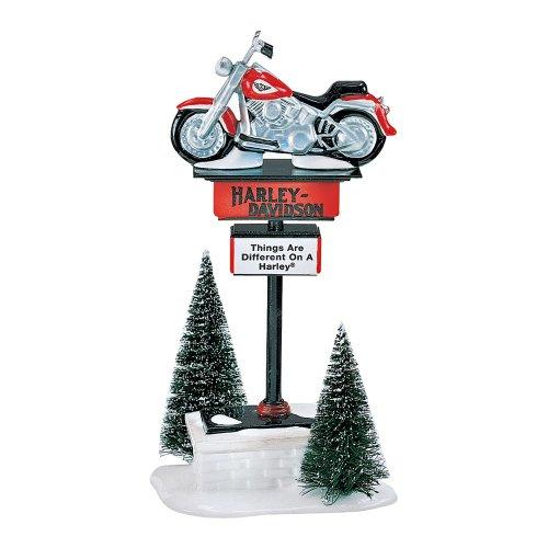 Department 56 Dept 56 The Original Snow Village Harley Da...