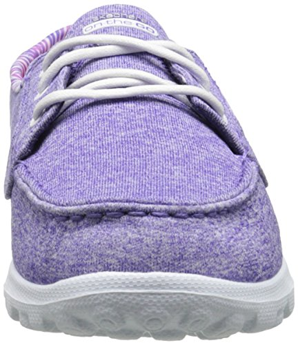 Skechers Performance Damen On-Dem-Go Flagship Slip-On Bootsschuh Lila Heather