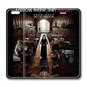 iPhone 6 Plus Soft High Quality PU Leather Case Easy To Clean Colored And Many Design Case Suit iPhone6 5.5 Inch Latest style Case Easy To Control American Horror Story 1