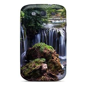 Hot Tpu Cover Case For Galaxy/ S3 Case Cover Skin - Rastoke Waterfall Croatia