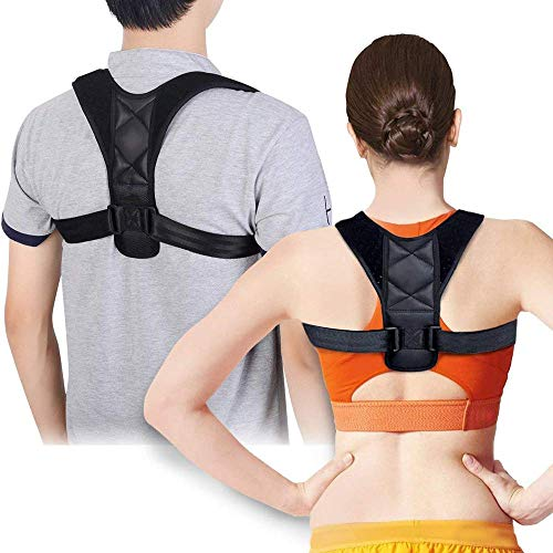 Posture Corrector for Women and Men - Posture Correction & Posture Support for Neck Shoulders and Back Pain Relief. High Quality Neoprene Posture Trainer/Posture Back Brace