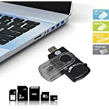 Lecteur USB Universel 14 En 1 Pour Carte SIM Et SD Transfert Rapide Donnée