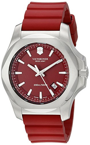 Victorinox Men's 241719.1 I.N.O.X. Analog Display Swiss Quartz Red Watch