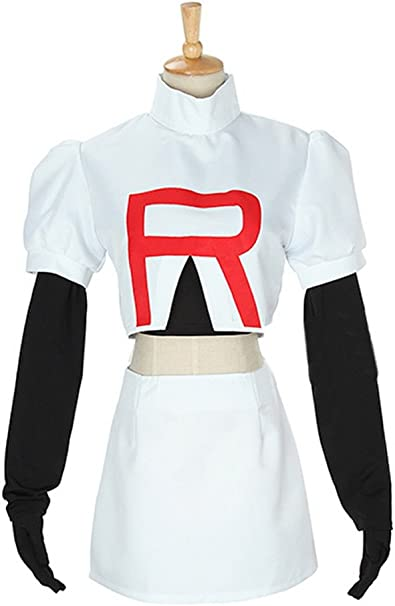 Anime Pokemon Cosplay de Jessie Team Rocket para niña ...