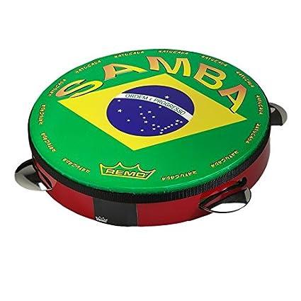 Amazon.com: Pandeiro, Pre-Tuned, 10
