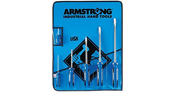 """Armstrong Made in USA Slotted Screwdriver 1//4 x 6/"""" Brand New /& Free Shipping"""