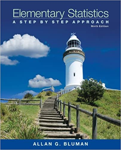 Amazon elementary statistics a step by step approach with elementary statistics a step by step approach with formula card 9th edition fandeluxe Image collections