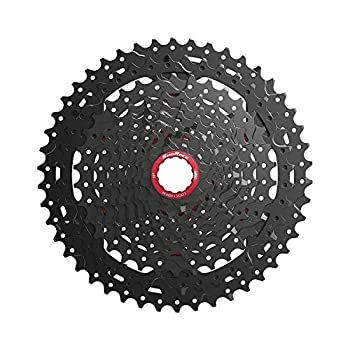 Image of Cassettes & Freewheels JGbike Sunrace XD Cassette 11 Speed 10-46T CSMX9X Wide Ratio MTB Cassette for Mountain Bike Including Extender for SRAM XD Driver