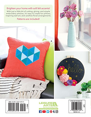 Felt For The Home: Make Your Décor Bloom with Colorful Felt