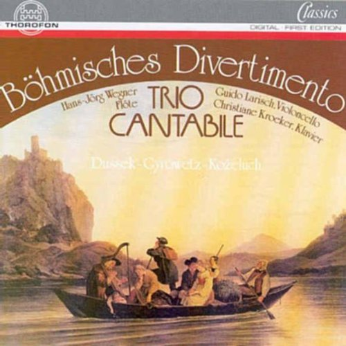 B??hmisches Divertimento (Bomishes Divertimento) by Trio Cantabile