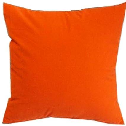Amazon.com: honeya, color naranja y rojo Color Sólido ...