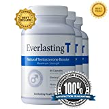 Everlasting T (3 Pack) - Testosterone Booster - Natural Testosterone Supplement - Proven Ingredients to Increase Testosterone Levels