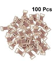 DOITOOL 100 Piezas de Clips de Vendaje Elásticos de Repuesto para Vendajes Clips de Vendaje Vendajes de Compresión Vendajes de Crepé Vendajes de Algodón Solo Clips de Cierre de Vendaje