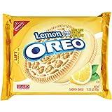 Oreo Lemon Creme Sandwich Cookies, 15.25 Ounce (Pack of 12)