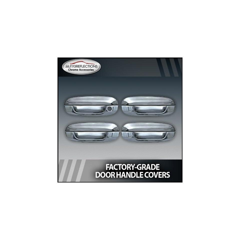 2002 2010 Chevy Trailblazer Chrome Door Handle Covers (4 door w/o passenger K