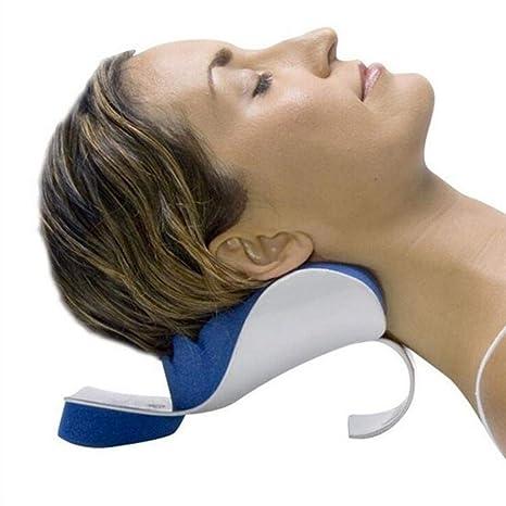 Womdee Oreiller de Traction d/écontractant pour Le Cou et Les /épaules de Oreiller de Traction pour Le relaxeur de douleurs au Cou