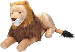 Wild Republic Jumbo Lion Plush, Giant Stuffed Animal, Plush Toy, Gifts for Kids, 30