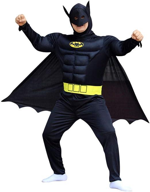CAGYMJ Cosplay Dress Party Ropa,Hombre Batman Músculo Mascara ...