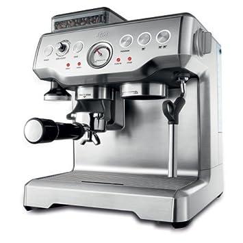 Solis Barista Pro Independiente Totalmente automática Máquina espresso 2L Plata - Cafetera (Independiente, Máquina espresso, 2 L, Molinillo integrado, ...
