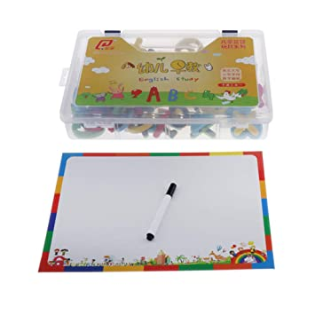CUTICATE Números Y Letras Magnéticas - Alfabeto Educativo Imanes ...