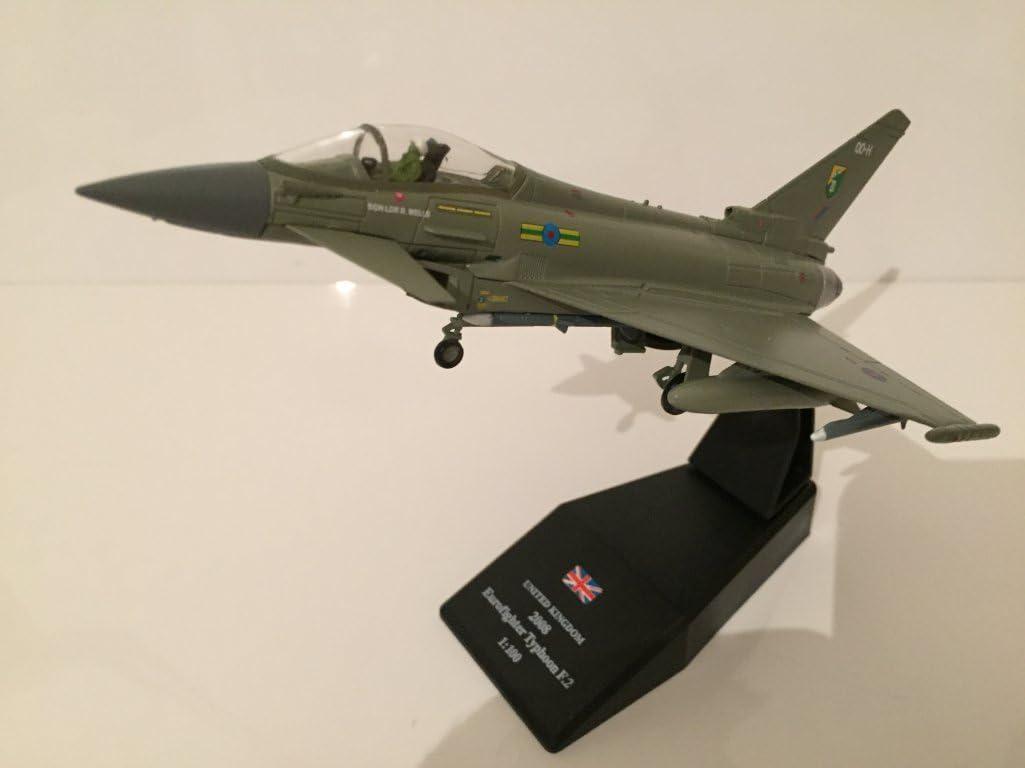 PGS Models 1:100 Scale 40607 - Royal Air Force Typhoon Die Cast Model: Amazon.es: Juguetes y juegos