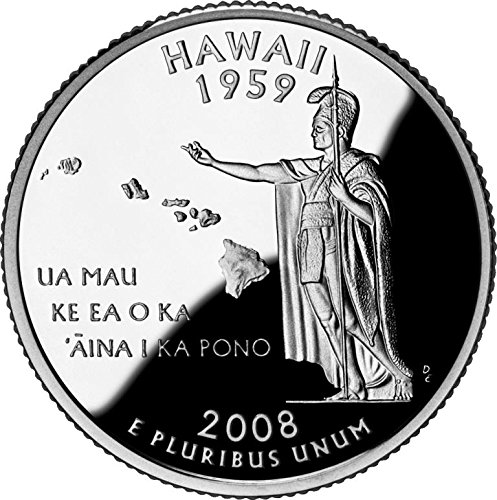 2008 Hawaii - P State Quarter Roll