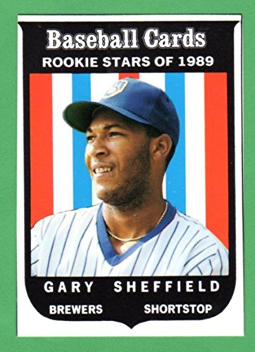 fan products of Gary Sheffield 1959 Topps Style ( From 1989 Baseball Card Magazine Insert) (Brewers) (Padres)