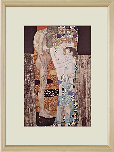 Creative 3D Visual Effect Wall Mural The Three Ages of Woman by Gustav Klimt Peel Stick Wall Decor