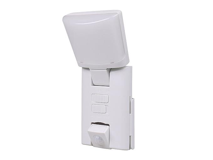 Portátil LED exterior Luz nocturna/Orientación Luz con sensor de movimiento, funciona con pilas