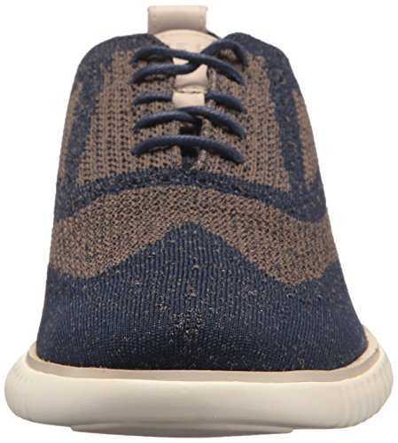 Stitchlite Cole Haan 0 Zerogrand 2 Navy Morel Peony Men's Oxford XnHnBx1
