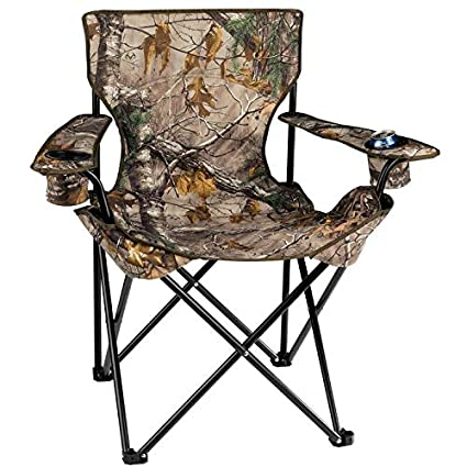 Amazon.com: REALTREE frondosas HD Camo Big Camp Silla ...