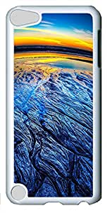 ipod 5 CaseHalf Moon Bay Sunset PC Custom iPhone 5C Case Cover White