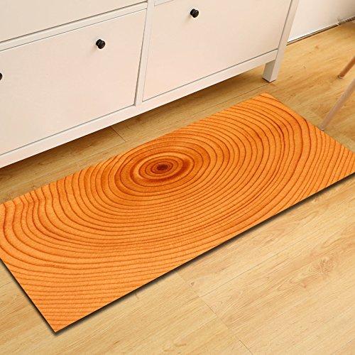 KathShop Wood Painting Rectangle Sofa Bedroom Rug Bedside Mats Anti-slip Bath Mats Floor Carpets For Living Room Kitchen Area Rug by KathShop