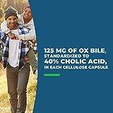 Ox Bile – 125 mg Digestive Enzyme Supplements – Help Support Healthy Fat Metabolism – 120 Vegetarian Capsules - Seeking Health