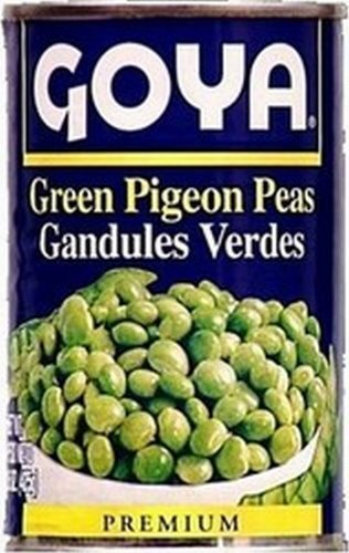 Goya Canned Green Pigeon Peas, 15 Ounce