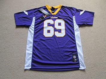 Minnesota Vikings Nfl fútbol americano Jersey camiseta - Allen # 69 - juventud Extra grande/MENS pequeño - NWT: Amazon.es: Deportes y aire libre