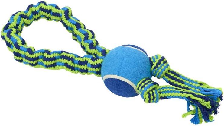 JORGEN KRUUSE A/S Buster Bungee Rope 2Nudos+Pelota Azul 33Cm 18060
