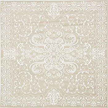 Amazon Com Modern Vintage Inspired Area Rugs Snow White 8