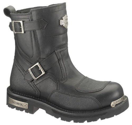 Harley-Davidson Men's Manifold Motorcycle Boot,Black,10 M US