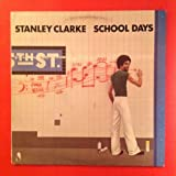 STANLEY CLARKE School Days NE 439 1976 LP Vinyl, Cover VG+