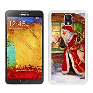 2014 Newest Merry Christmas White Samsung Galaxy Note 3 Case 59