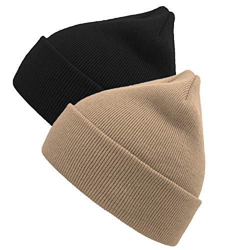 d3d27e3b59f YSense 2 Pack Kids Winter Knit Hat