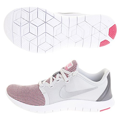 Donna 2 Wmns 005 Scarpe Platinum Running Grey hyper mtlc Multicolore Flex Cool Nike pure Contact Pink dtn1Ytq