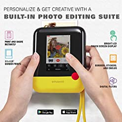 Polaroid Pop 2.0 – 3.5 x 4.25 Inch Prints, Instant Print Digital Camera, 20 MP, 3.97 Inch Touchscreen Display, Built-in… Most Wished for