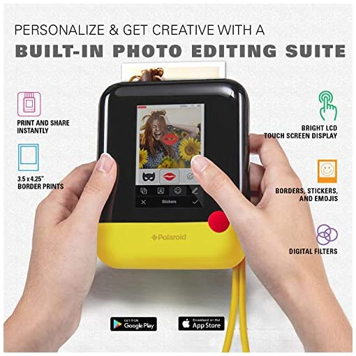 Polaroid Pop 2.0 – 3.5 x 4.25 Inch Prints, Instant Print Digital Camera, 20 MP, 3.97 Inch Touchscreen Display, Built-in… Camera and Photo