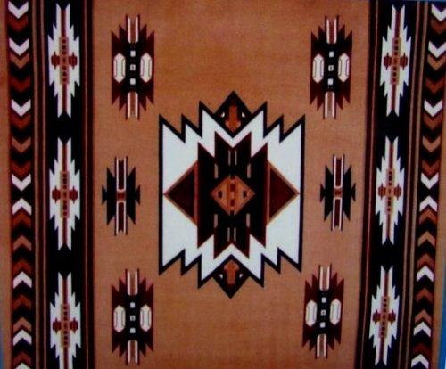"South West Brown 43/9 Fleece Blanket 50""x60"""