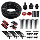 75ft Garden and Greenhouse Landscaping Irrigation Plant Watering Drip Hose Sprinkler System Kit