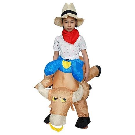 Deanyi - Disfraz de Halloween para niños Hinchable, Ideal para ...