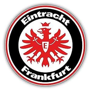 eintracht frankfurt germany soccer football art decor vinyl sticker 5 39 39 x 5. Black Bedroom Furniture Sets. Home Design Ideas